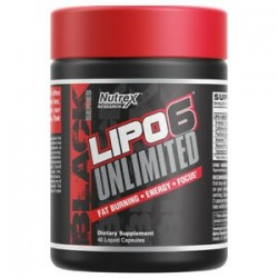 LIPO 6 BLACK UNLIMITED 48 caps