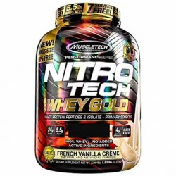 NITROTECH WHEY GOLD 5.5 LBS